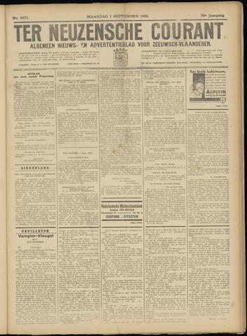 Ter Neuzensche Courant. Algemeen Nieuws- en Advertentieblad voor Zeeuwsch-Vlaanderen / Neuzensche Courant ... (idem) / (Algemeen) nieuws en advertentieblad voor Zeeuwsch-Vlaanderen 1930-09-01