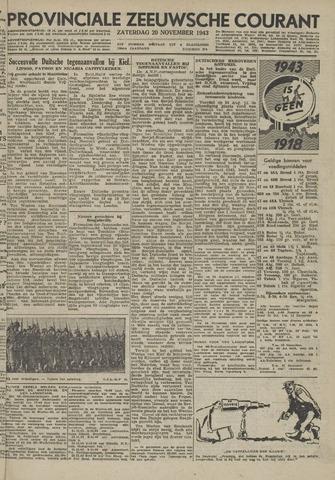 Provinciale Zeeuwse Courant 1943-11-20
