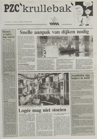 Provinciale Zeeuwse Courant katern Krullenbak (1981-1999) 1995-02-14
