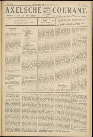 Axelsche Courant 1933-03-24