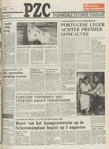 Provinciale Zeeuwse Courant 1975-07-25