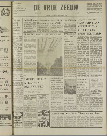 de Vrije Zeeuw 1971-07-15