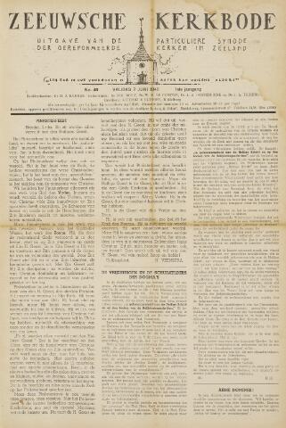 Zeeuwsche kerkbode, weekblad gewijd aan de belangen der gereformeerde kerken/ Zeeuwsch kerkblad 1946-06-07