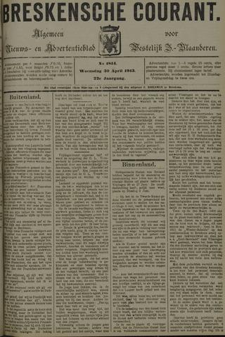 Breskensche Courant 1913-04-30