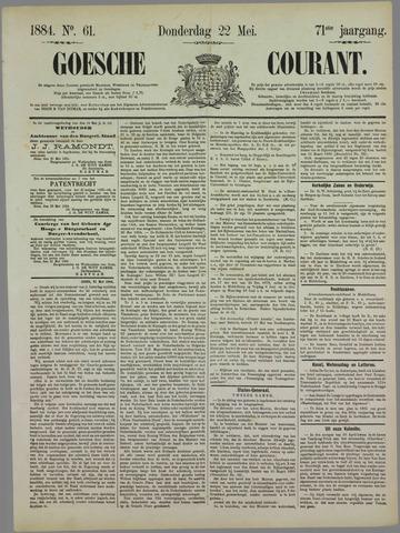 Goessche Courant 1884-05-22