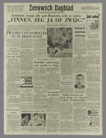 Zeeuwsch Dagblad 1961-11-27