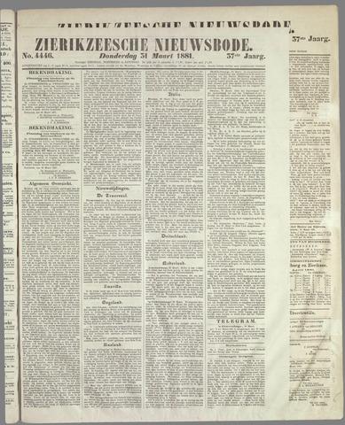 Zierikzeesche Nieuwsbode 1881-03-31