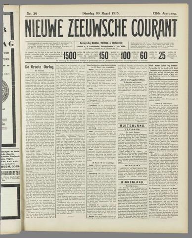 Nieuwe Zeeuwsche Courant 1915-03-30