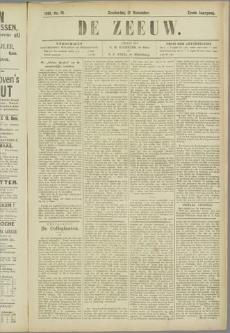 De Zeeuw. Christelijk-historisch nieuwsblad voor Zeeland 1891-11-12