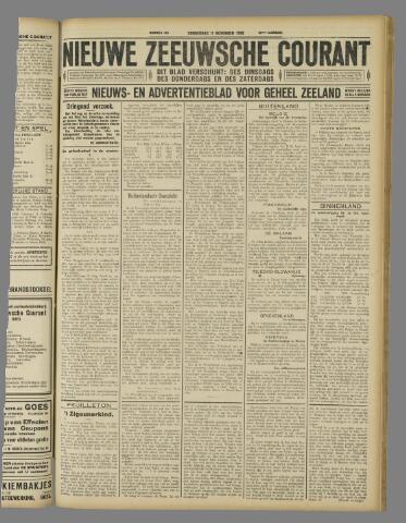 Nieuwe Zeeuwsche Courant 1926-11-11