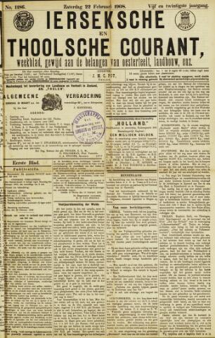 Ierseksche en Thoolsche Courant 1908-02-22