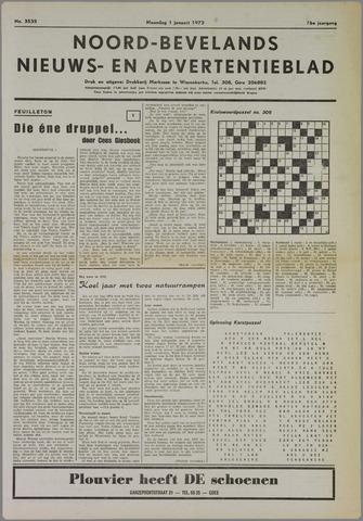 Noord-Bevelands Nieuws- en advertentieblad 1973