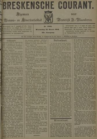 Breskensche Courant 1914-03-25