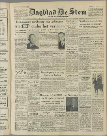 de Stem 1951-09-17