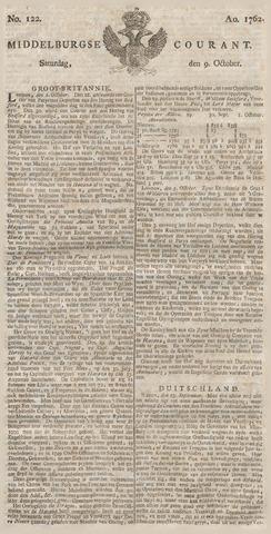Middelburgsche Courant 1762-10-09
