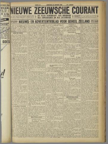 Nieuwe Zeeuwsche Courant 1923-10-25