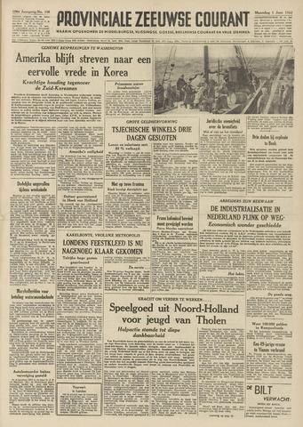 Provinciale Zeeuwse Courant 1953-06-01