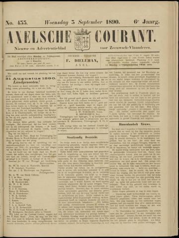 Axelsche Courant 1890-09-03