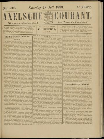 Axelsche Courant 1888-07-28