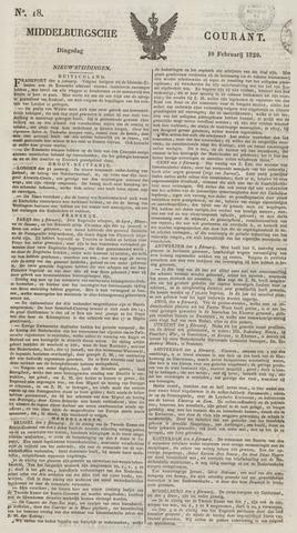 Middelburgsche Courant 1829-02-10