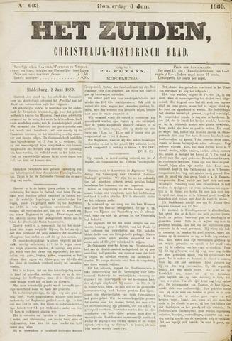 Het Zuiden, Christelijk-historisch blad 1880-06-03