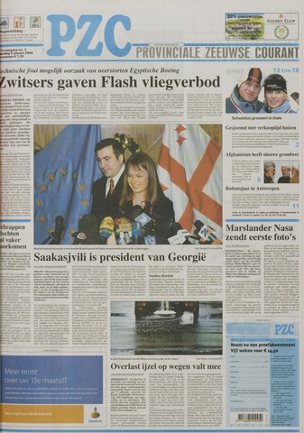 Provinciale Zeeuwse Courant 2004-01-05