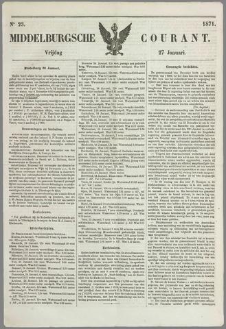 Middelburgsche Courant 1871-01-27