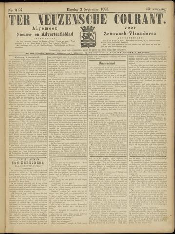 Ter Neuzensche Courant. Algemeen Nieuws- en Advertentieblad voor Zeeuwsch-Vlaanderen / Neuzensche Courant ... (idem) / (Algemeen) nieuws en advertentieblad voor Zeeuwsch-Vlaanderen 1895-09-03