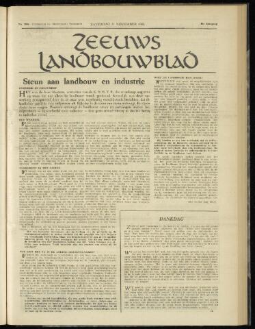 Zeeuwsch landbouwblad ... ZLM land- en tuinbouwblad 1961-11-11