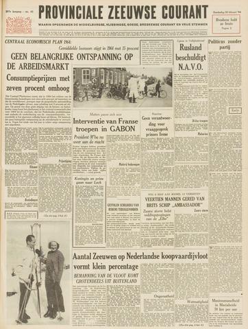Provinciale Zeeuwse Courant 1964-02-20