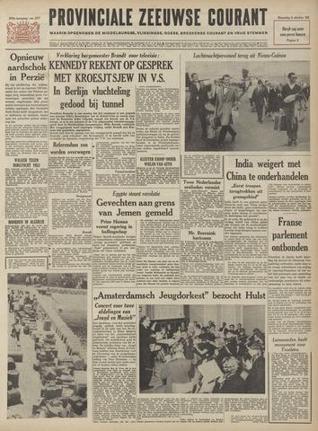Provinciale Zeeuwse Courant 1962-10-08