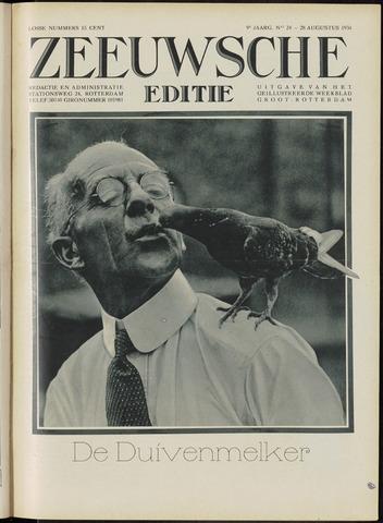 Ons Zeeland / Zeeuwsche editie 1931-08-28