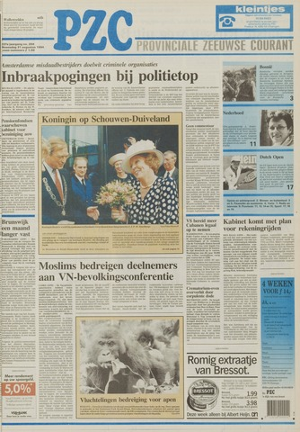 Provinciale Zeeuwse Courant 1994-08-31