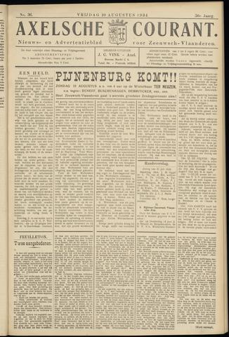 Axelsche Courant 1934-08-10