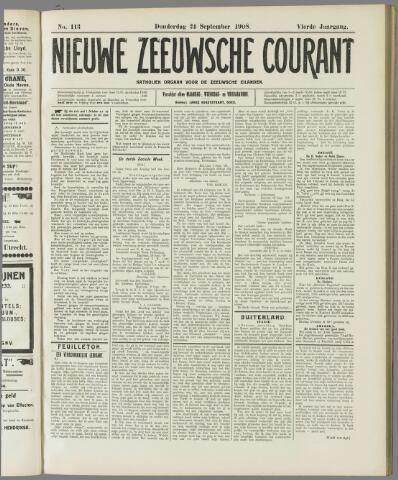 Nieuwe Zeeuwsche Courant 1908-09-24