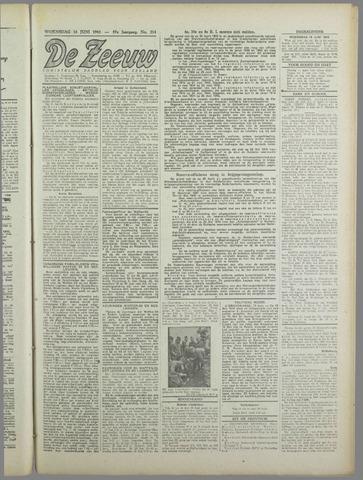 De Zeeuw. Christelijk-historisch nieuwsblad voor Zeeland 1943-06-16