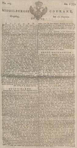 Middelburgsche Courant 1771-08-27