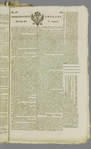 Middelburgsche Courant 1810-08-11