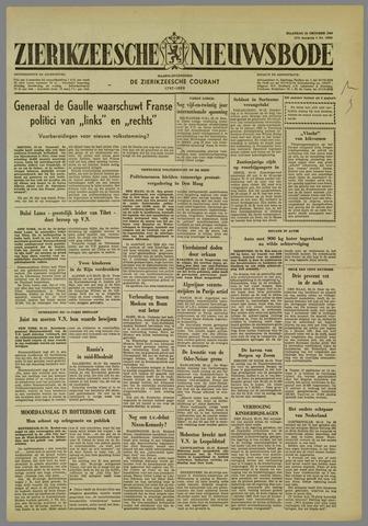 Zierikzeesche Nieuwsbode 1960-10-24