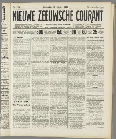Nieuwe Zeeuwsche Courant 1913-10-30