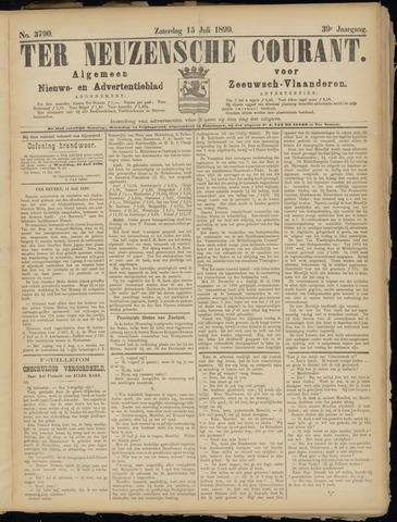 Ter Neuzensche Courant. Algemeen Nieuws- en Advertentieblad voor Zeeuwsch-Vlaanderen / Neuzensche Courant ... (idem) / (Algemeen) nieuws en advertentieblad voor Zeeuwsch-Vlaanderen 1899-07-15