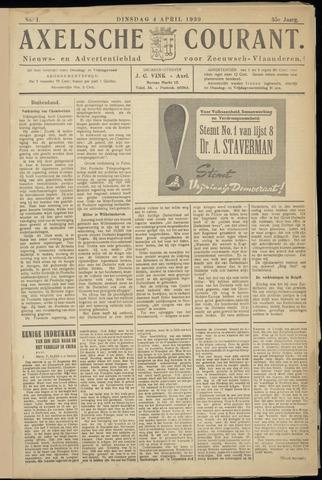 Axelsche Courant 1939-04-04
