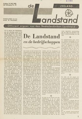 De landstand in Zeeland, geïllustreerd weekblad. 1943-07-16