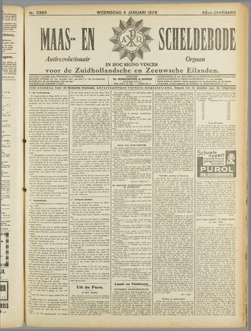 Maas- en Scheldebode 1928