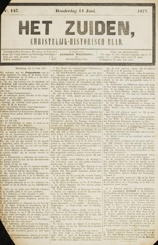 Het Zuiden, Christelijk-historisch blad 1877-06-14