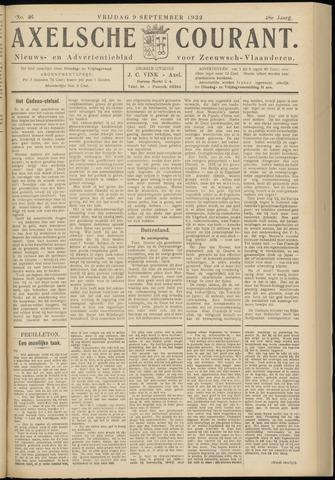 Axelsche Courant 1932-09-09
