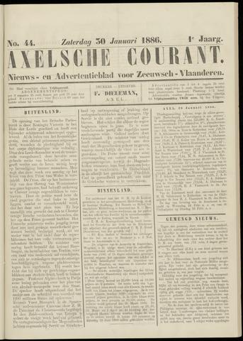 Axelsche Courant 1886-01-30