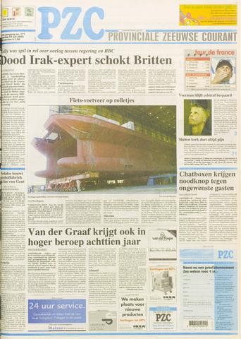Provinciale Zeeuwse Courant 2003-07-19