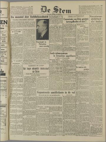 de Stem 1948-02-23