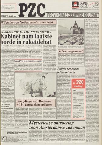 Provinciale Zeeuwse Courant 1985-10-24
